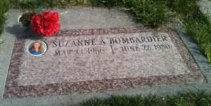 Grave Suzanne A. Bombardier Photography Jennifer Gibbons