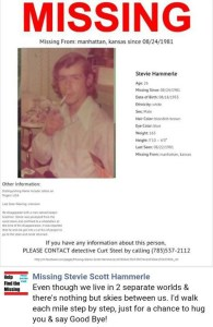 Missing: Stephen Scott Hammerle/NamUs