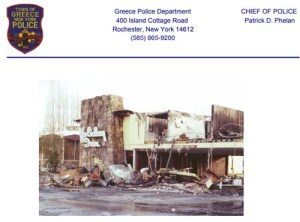 holiday inn fire 1978 greece police ny