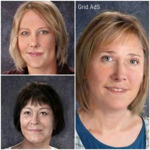Debbie Spickler, Janice Pockett, and Lisa White