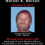 Norvel Robert Nelson III missing poster