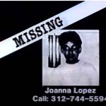 Missing Poster Joanna Lopez