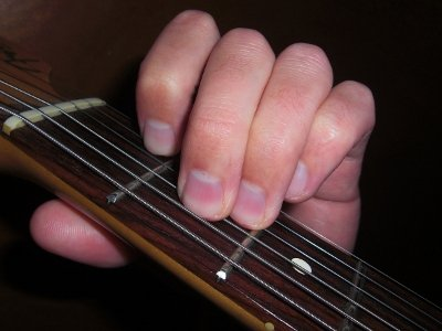 A Minor Open Chord
