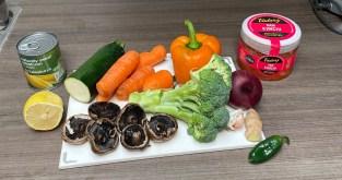 Ingredients list - Chinese takeaway alternative