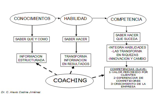 Coaching conocimientos habilidades competencias