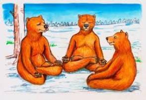 over mij boeddha beren