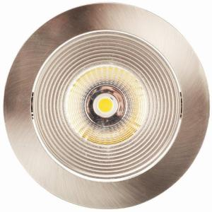LED Spot HD 702 Geborsteld Aluminium 2700K