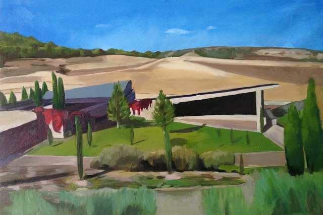 deGranero curso de dibujo pintura paisaje madrid