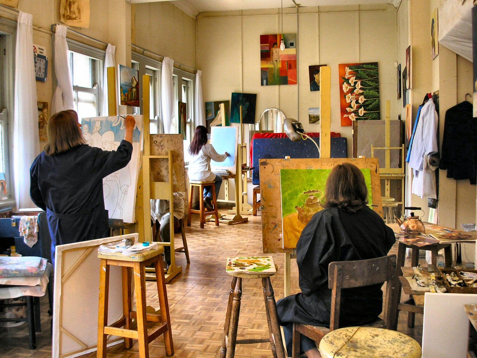 estudiar bellas artes degranero cursos dibujo pintura