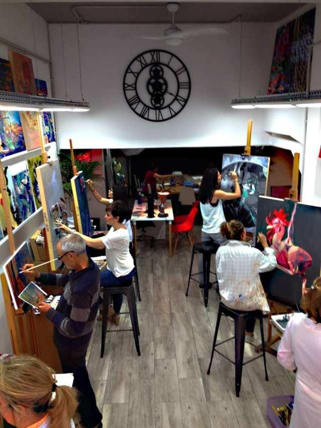 deGranero cursos de dibujo, pintura y fotografía en Madrid