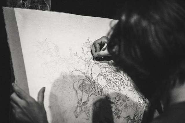 deGranero dibujo pintura Madrid España