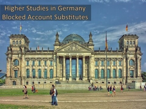 Higher Studies in Germany Blocked Account Substitutes