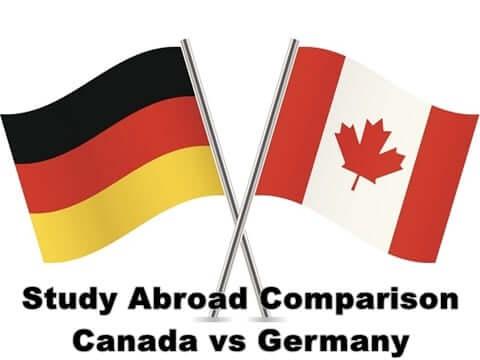 Study Abroad Comparison Canada vs Germany