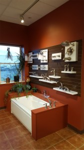 Degrees of Comfort Northampton Tub and Faucet Display