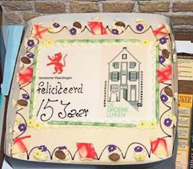 Foto bij verslag15-jarig jubileum De Groene Luiken Vlaardingen - maart 2009