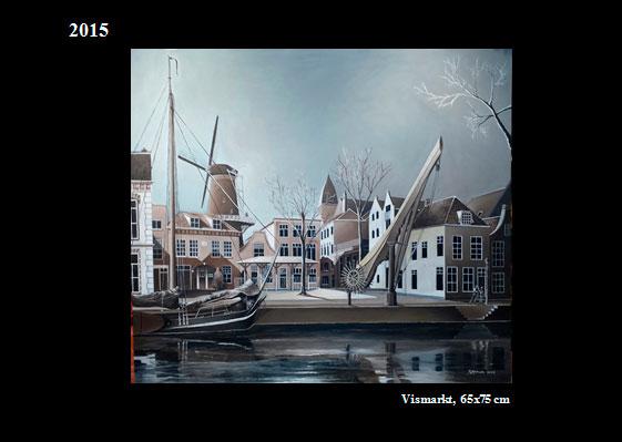 Expo van symbolisch impressionistische schilderijen van Rudi Atman in De Groene Luiken - van 23 april tot 4 juni