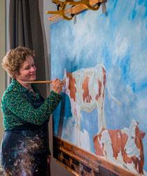 Tinka Schilperoort exposeert, samen met Heleen Boerkamp, van 7 januari - 18 februari 2019 in De Groene Luiken