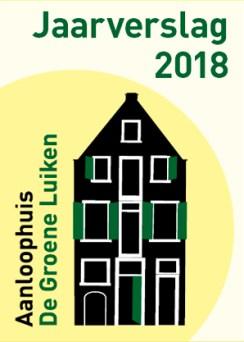 Kaft Jaarverslag 2018 - De Groene Luiken