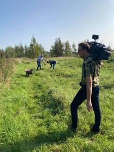 In het nieuws Voor de camera NHTV Marjolein 15 sept