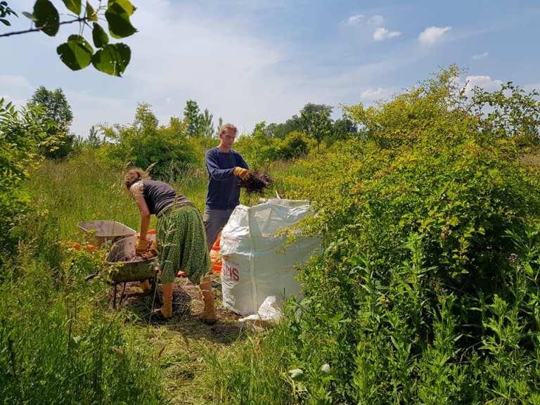 hoop voor making compost dan, marieke jun 20