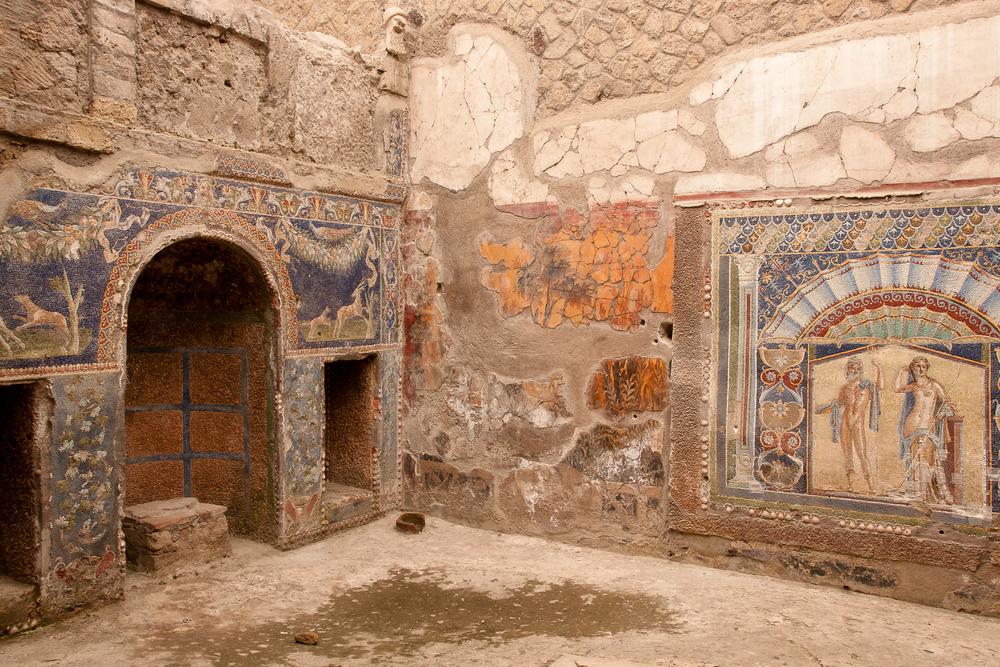 Interior do Herculaneum.