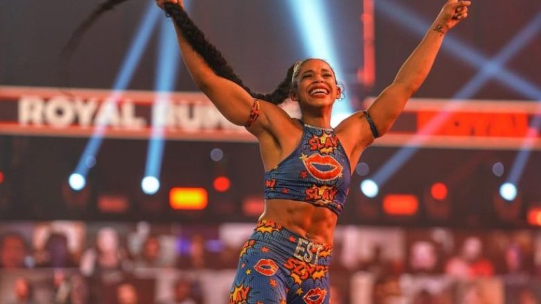 Black History: Bianca Belair Makes History At WWE's Royal Rumble | Hot97