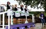 (Photo by Nicole Rodriguez: Grape Stomp Winners)