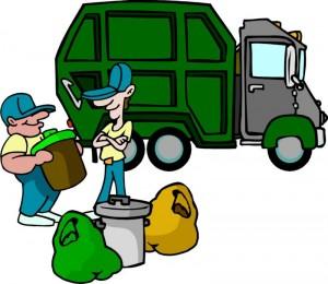 Trash clean up pick up
