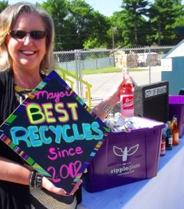 Branson Mayor Karen Best, a noted recycler since 2002. (City of Branson photo)