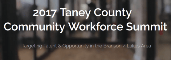 Taney County Community Workforce Summit