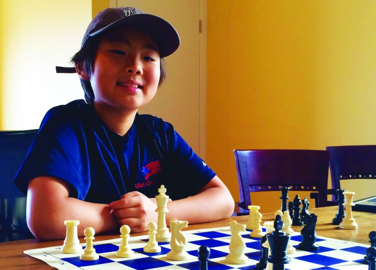 At Age Nine, Chess Prodigy Max Lu Shows Us How It's Done