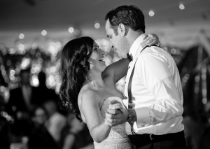 McKinney and Curran dancing on wedding day. Photo: Anthony DeCarlo