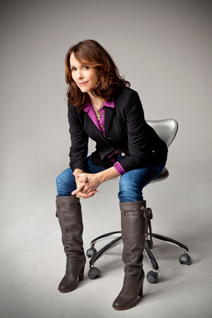Best-selling memoirist Mary Karr will share her hard won spiritual experiences as guest speaker Saturday, March 12, at 7 p.m., at Christ Church Greenwich. Contributed photo.