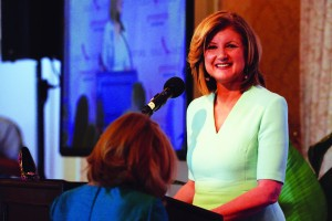 Arianna Huffington speaks at Greenwich United Way sole Sisters Luncheon