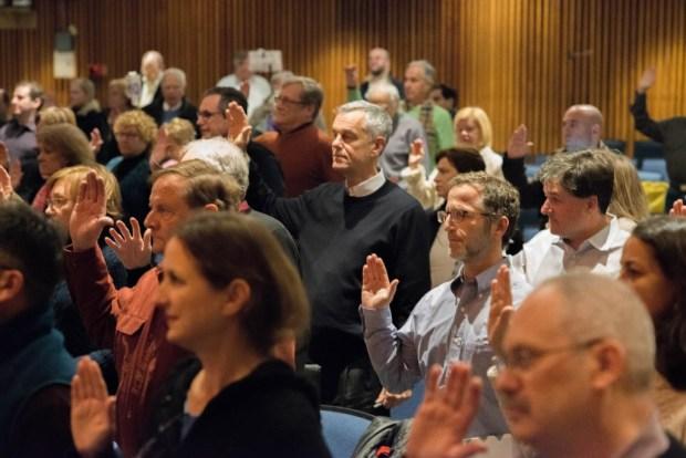 The RTM takes oath earlier this year (John Ferris Robben Photo)