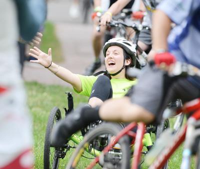 Bikers 'Trek' Into Greenwich in ALS Tri-State Trek Event