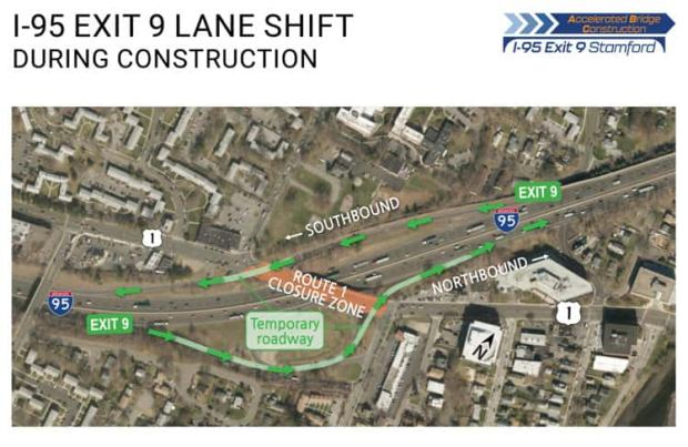 Greenwich Ready for Traffic Headache from I-95 Construction