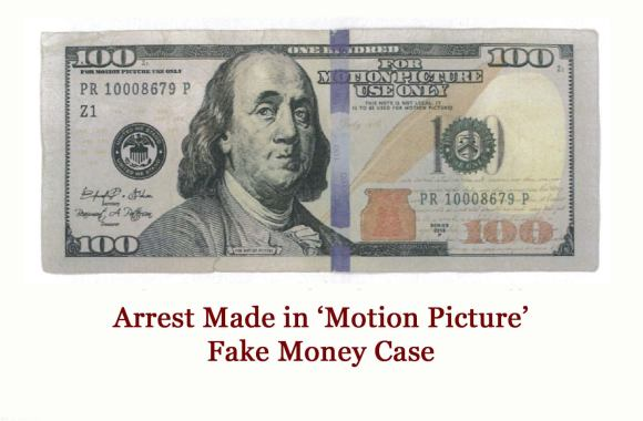 Arrest Made in Fake 'Motion Picture' Money Case   Moody on ...