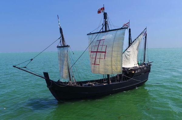 Historic Replicas of Columbus' Sailing Ships Headed Into ...