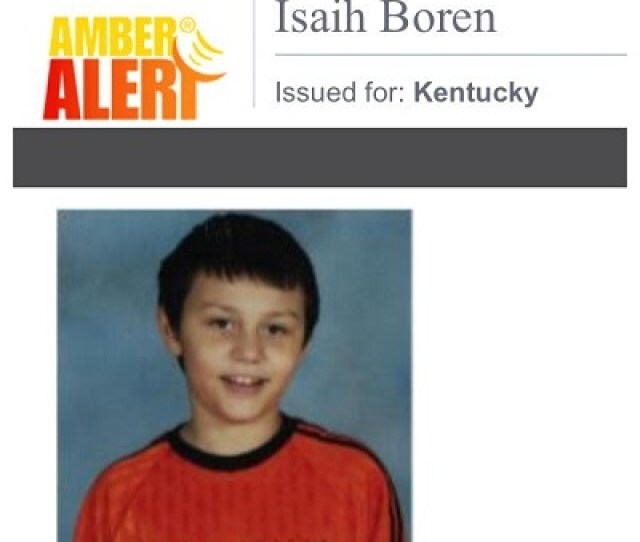 Amber Alert Police Looking For  Year Old Cadiz Boy In Need Of Medication