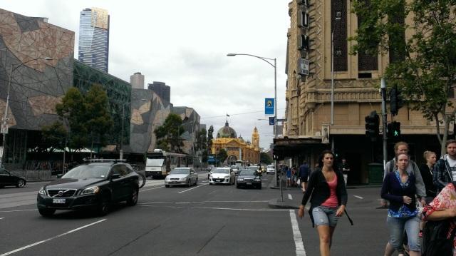 メルボルンと言えば、 Flinders Street Station