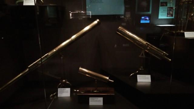 昔の望遠鏡