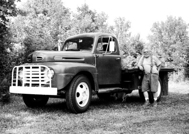 Doug and his truck.