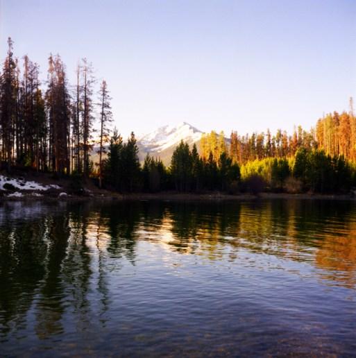 """Sunrise, Lake Dillon"" - Colorado"