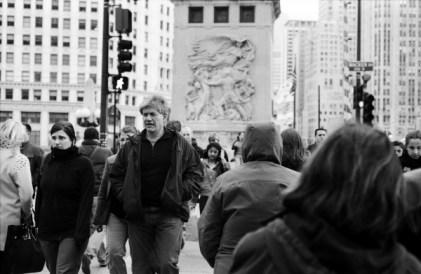 Walking around the heart of Chicago