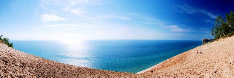 Sleeping Bear Dunes Panorama