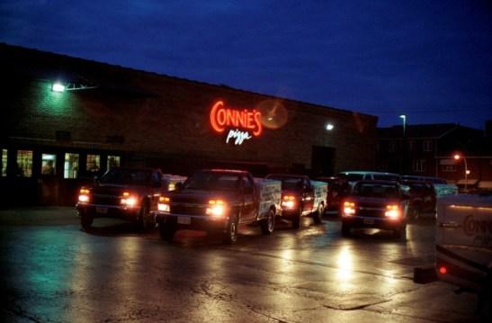 Connie's Pizza's Impressive Delivery Fleet.
