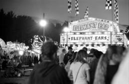 There was a long line for Elephant Ears.