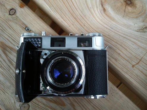 Kodak Retina 3C Opened