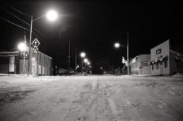 Small Town, Winter, Michigan